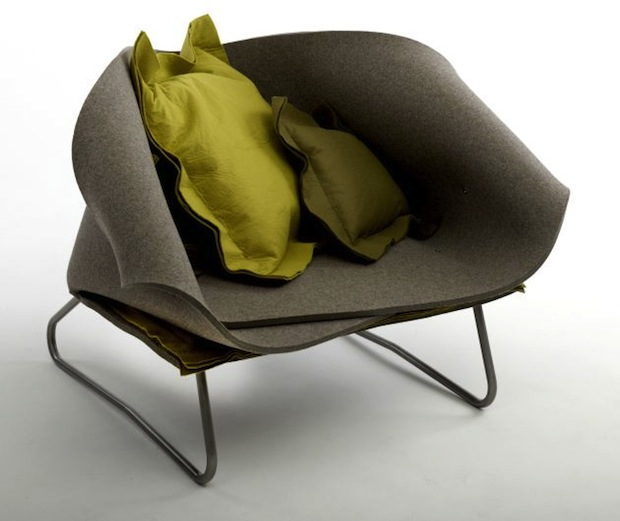 Comfortable-Felt-Up-Chair-by-Charlotte-Kingsnorth